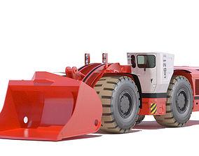 3D Sandvik underground loader LH621