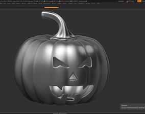 3D printable model halloween pumpkin 14
