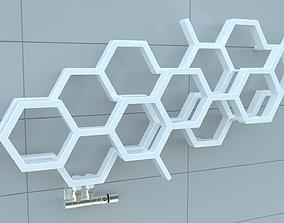 3D model Bathroom Radiator 01