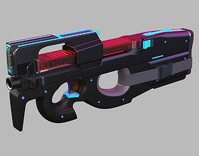 FN P90MN 3D model