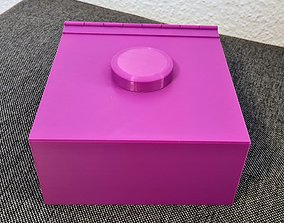 3D printable model CIGARETTE BOX WITH HUMIDOR
