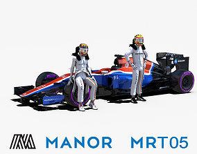 Manor MRT05 3D model