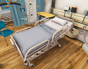 Clinic - Hospital room 3D asset