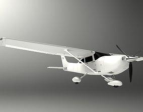 3D model PBR Cessna 182 Skylane