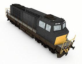 3D asset Diesel Electric Locomotive