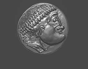 Celtic coin 2 3D print model