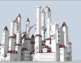 Procedural generator of random castles 3D