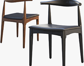 wooden 3D CH20 Elbow Chair 2 options