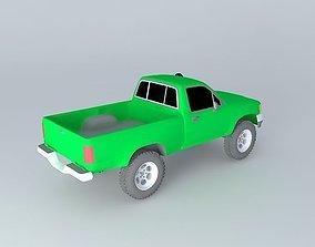 Short Single Cab Toyota HiLux 3D