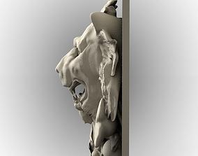 Lion Fasade Decoration 3D