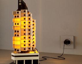 3D Nakagin Capsule Tower Miniature