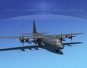 3D Lockheed C-130 Hercules RCAF 2