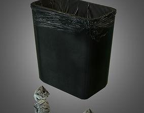 Trashcan 3D asset
