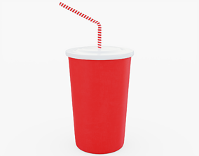 Drink Cup 3D model VR / AR ready