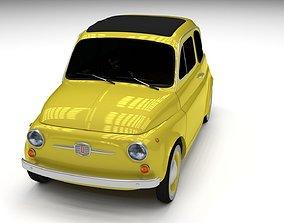 3D model Fiat Nuova 500D 1960