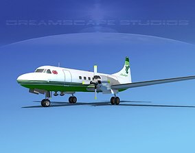 3D Convair CV-580 Air Atlantic