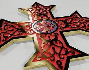 3D print model Coptic Cross