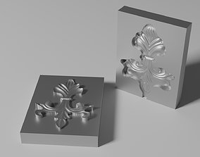 3D printable model Mold for wrought iron ornament 01