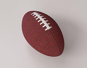 3D model American Football