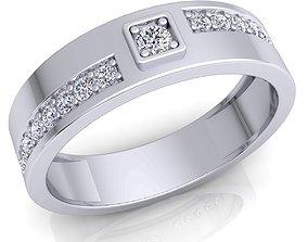 3D printable model fashion-and-beauty Diamond Ring 33