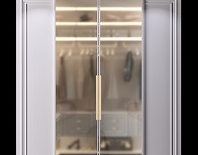 3D Wardrobe with doors clothes