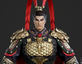 Generals of the Three Kingdoms in ancient China 3D model 1