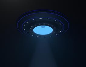 UFO DH01 3D asset