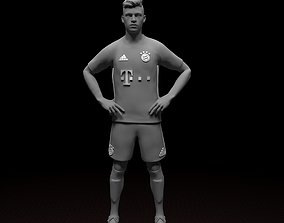 Kimmich soccer player STL file ready for printing 3D 2