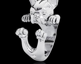Dog Ring 3D printable model canine