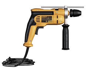 3D model Hammer drill DeWalt