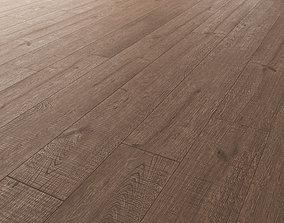 3D model Wood Floor Oak Black Walnut Wild Wood