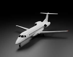 Embraer E135 E145 Family 3D model