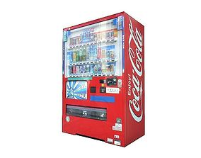 3D model Vending Machine 3
