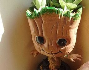 3D printable model groot Baby Groot Vase