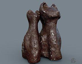 Ceramic cats 3D print model