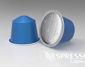 Nespresso capsule 3D
