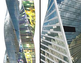 3D asset Evolution tower