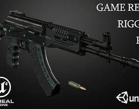 AK-15 Assault rifle 3D model