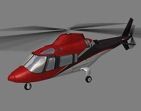 3D model Agusta Helicopter V4