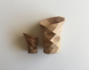 3D print model Poly Vase V 15u
