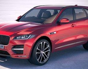 3D Jaguar F-pace R 2019