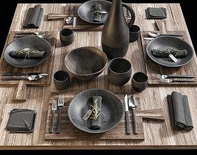 3D Table setting 15