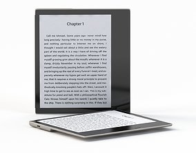 3D model Amazon Kindle Oasis Tablet 2019