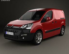 3D Citroen Berlingo Panel Van L1 2015