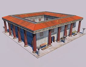 3D model Greek classic house