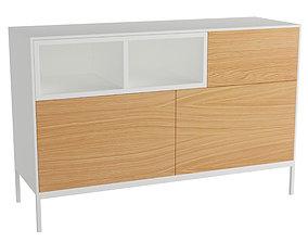 Chest of drawers GOB-5481-4 3D model