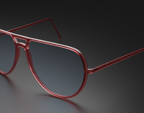 Spectacles 3D animated