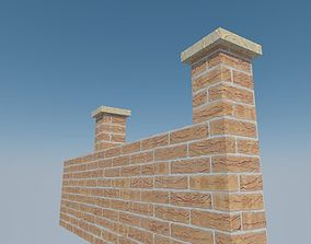 brickwall 1 3D model