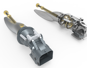 3D sea Water Jet Propulsion