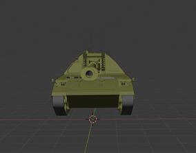 3D model Panzer Haubitze 2000